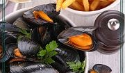 Moules & Frites at Central Park