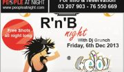 Special RNB night at Mellow Bar Publicity Jbeil